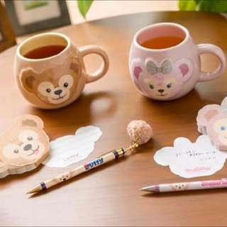 預購商品🇯🇵日本海洋迪士尼樂園✨新品✨Duffy達菲&shelliemay雪莉枚 馬克杯💕