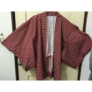 🇯🇵日本帶回古著和服/甚平罩衫