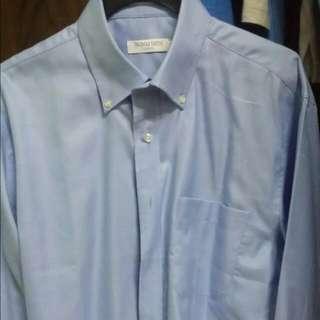 Thomas Smith Long Sleeve(Light BLUE) Size 15 1/2