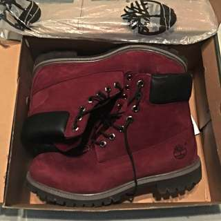 *PRICE DROP* Timberland Boots Burgundy