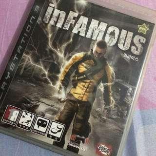 Kaset PS3 Infamous