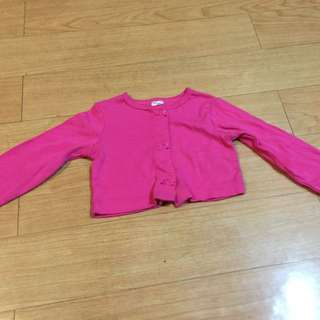 Carter's Cropped Cardigan