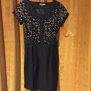 New Black Dress Size 6-8