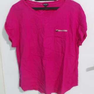 Pink Fuschia Top