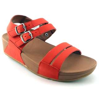 Sandal Wanita High Quality FitFlop Via Bar Vermilion