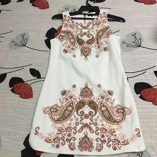 Nichii White Dress