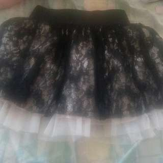 cute lace mini skirt from urban planet
