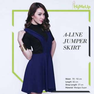 A-line Jumper Skirt