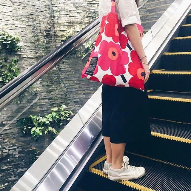 💪匯款完畢-訂單才成立👁🗨marimekko•UNIKKO Shopping bag(限量)