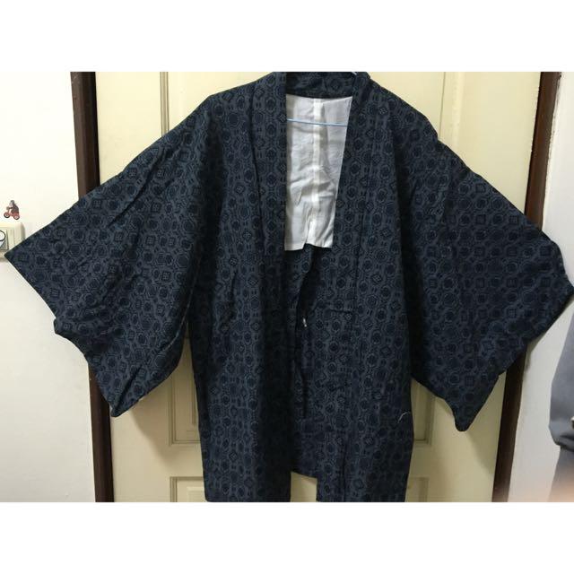🇯🇵日本帶回古著和服/甚平罩衫/男女皆可