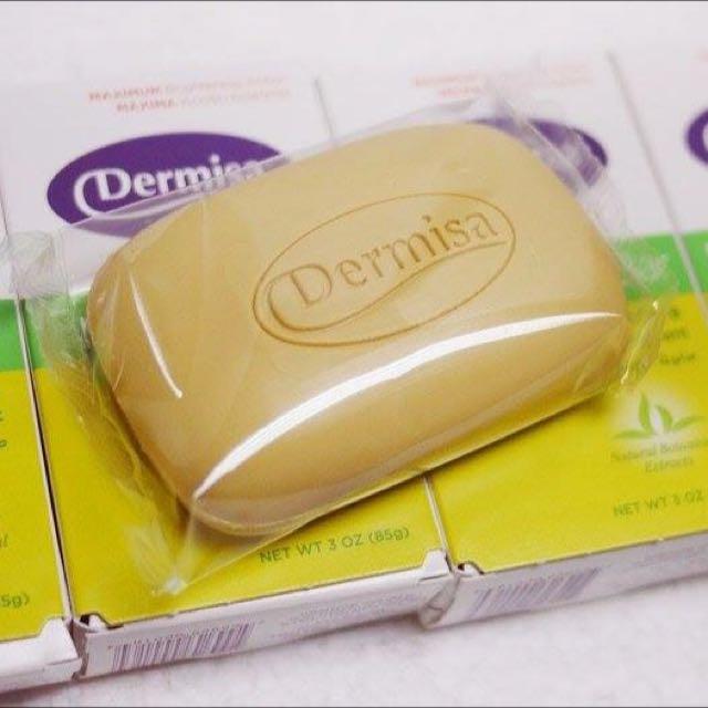 現貨 美國Dermisa淡斑嫩白皂85g •網路熱銷NO.1