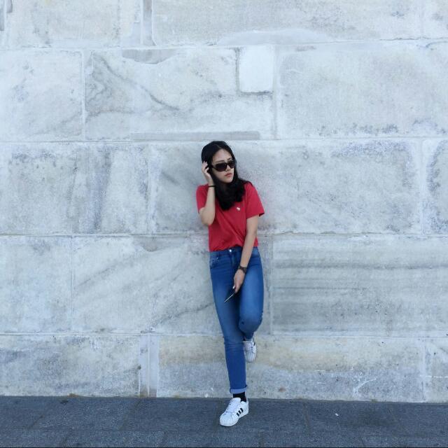 美國帶回 H&M顯瘦牛仔褲