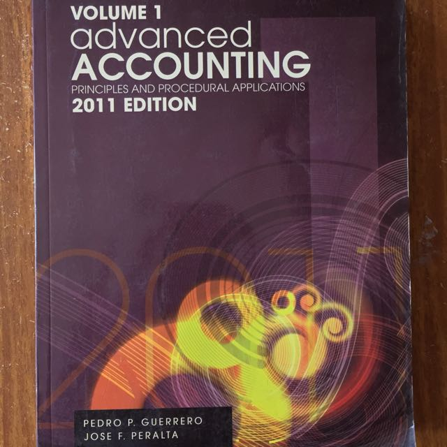Advanced Accounting by Pedro Guerrero