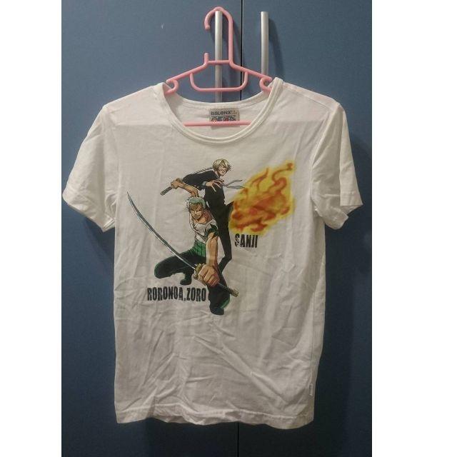 BALENO 班尼祿 海賊王 OnePiece 索隆 香吉士 上衣 T恤 S