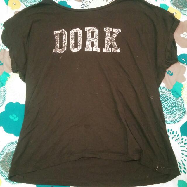 Black Dork And White Dweeb Shirts