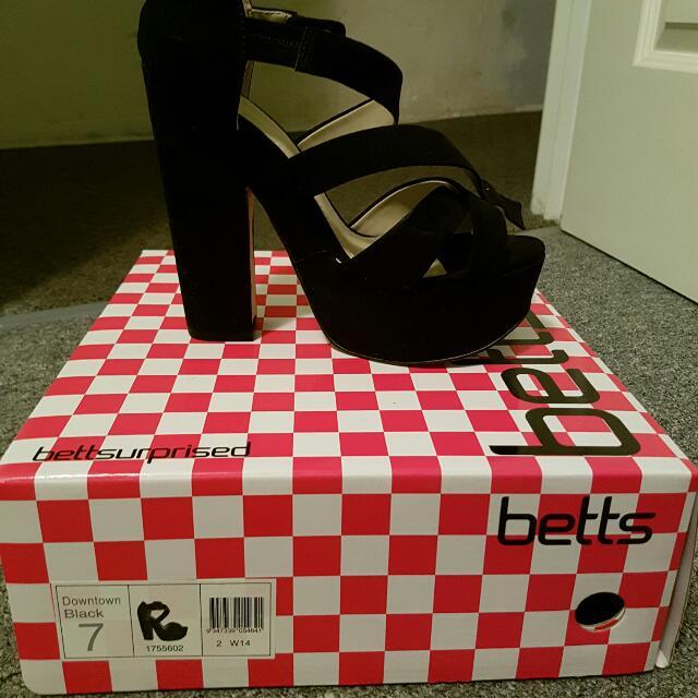 Blacktown Black Betts Heels