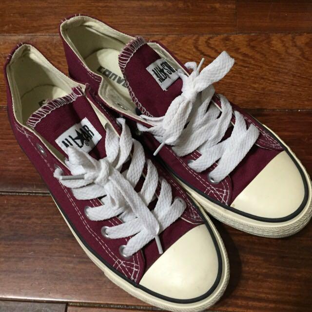 Converse低筒帆布鞋