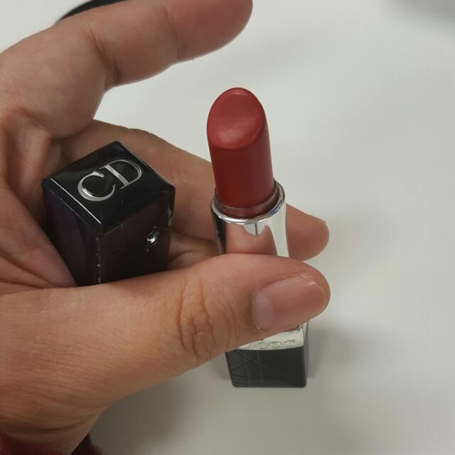 Dior Red Lipstick