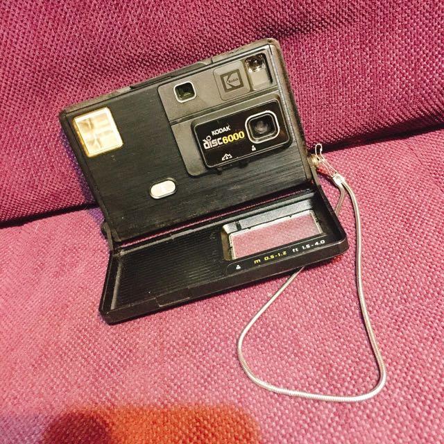 柯達老相機DISC6000