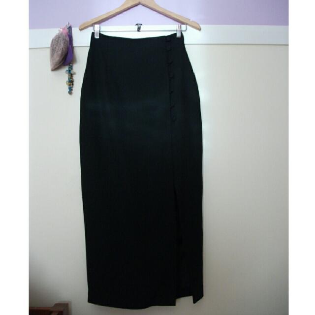 'Events' Side Split Formal Skirt