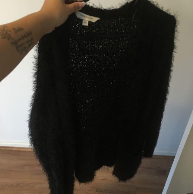 Fluffy Cardigan (size M)