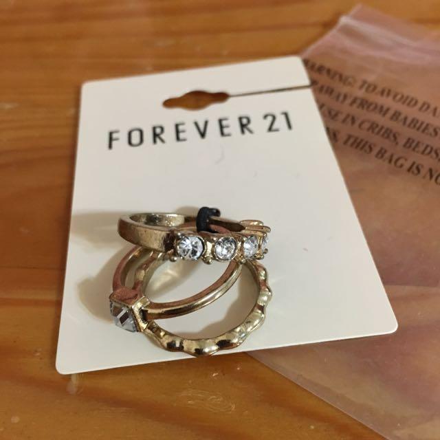 Forever21 戒指