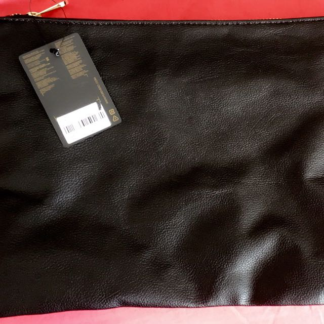 Forever21 Large, Black Clutch