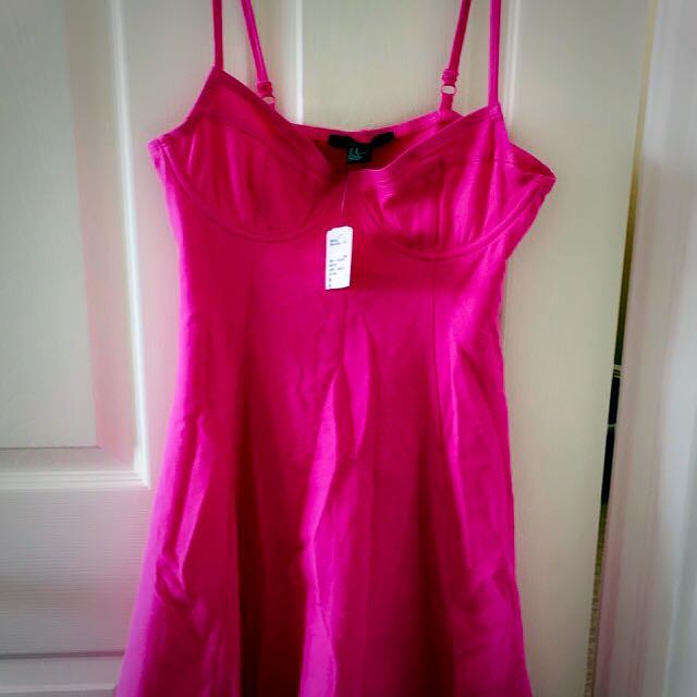 Forever21 Pink Summer Dress