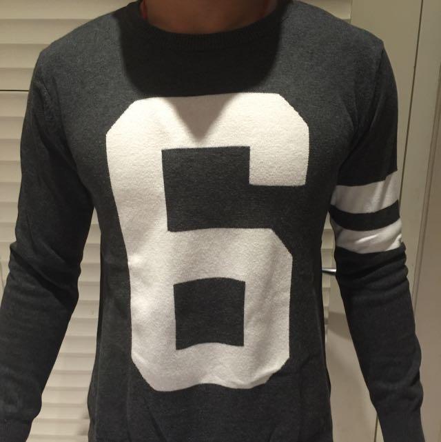 Grey Sweater Ambrogio
