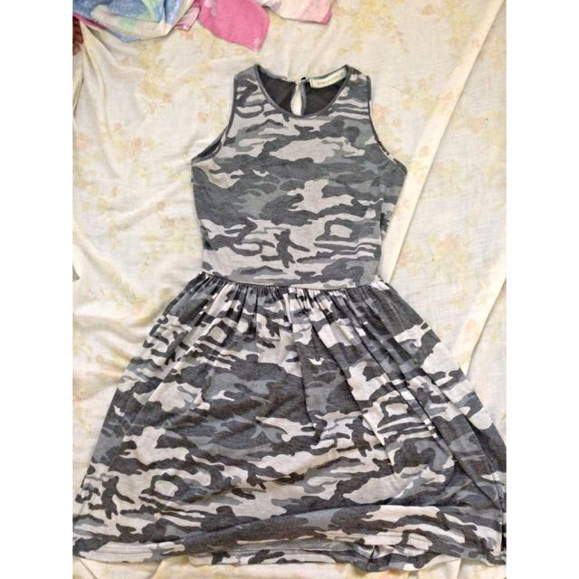 Gtw Urban Camouflage Dress