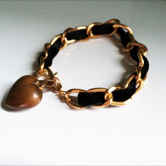 Velvet Chain Bracelet