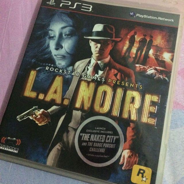 Kaset PS3 L.A. Noire
