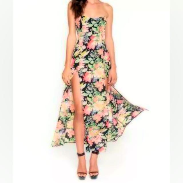Love Nookie Maxi Floral Dress