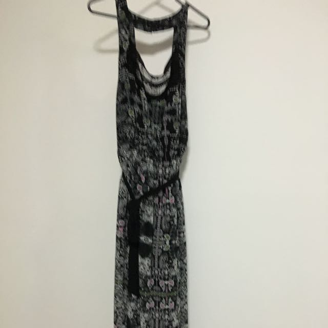Maxi Length Cocktail Dress