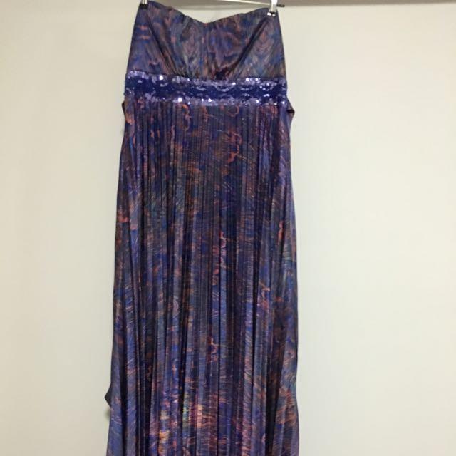 Maxi Length Formal Dress