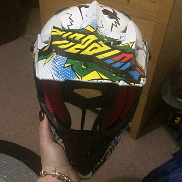 Oneal Helmet Youth Size large Motocross Dirt Trail Kids Bike