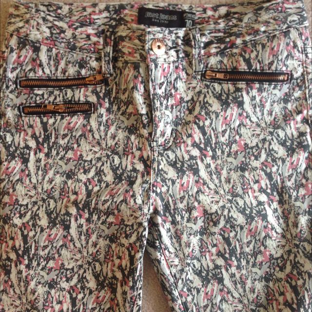 Patterned Jeans - Just Jeans