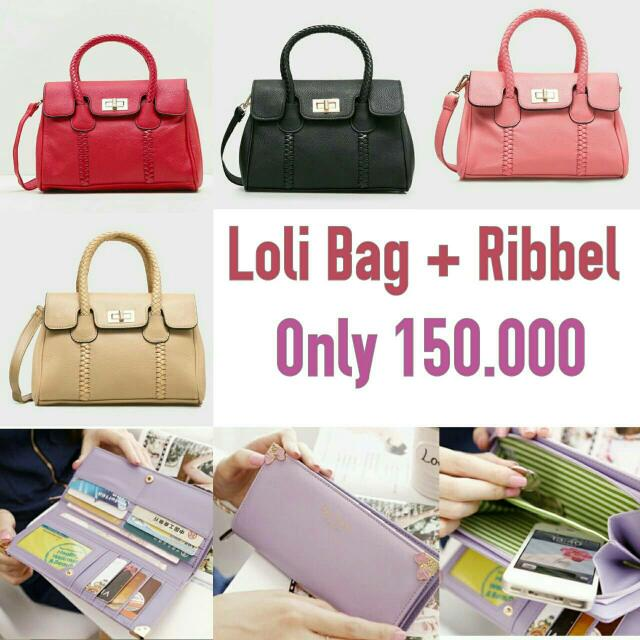 PROMO LOLI BAG + RIBBEL