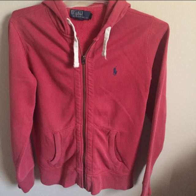 Ralph Lauren red jacket