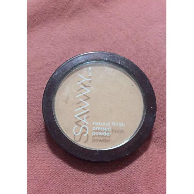 SAVVY - Natural Finish Pressed Powder