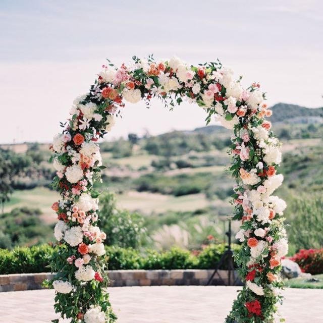 flowers for wedding arch sellabrations for wedding arch wedding arches 4269