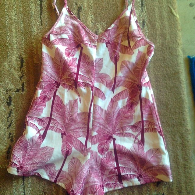 Toby Heart Ginger Playsuit