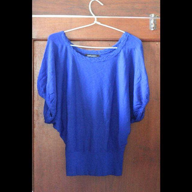 Top Electric Blue By Simplicity