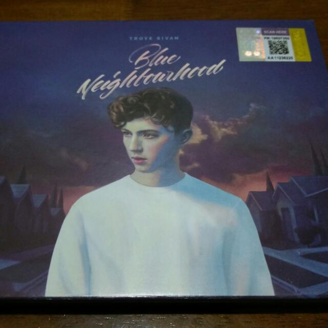 Troye Sivan Blue Neighbourhood Deluxe CD Brand New