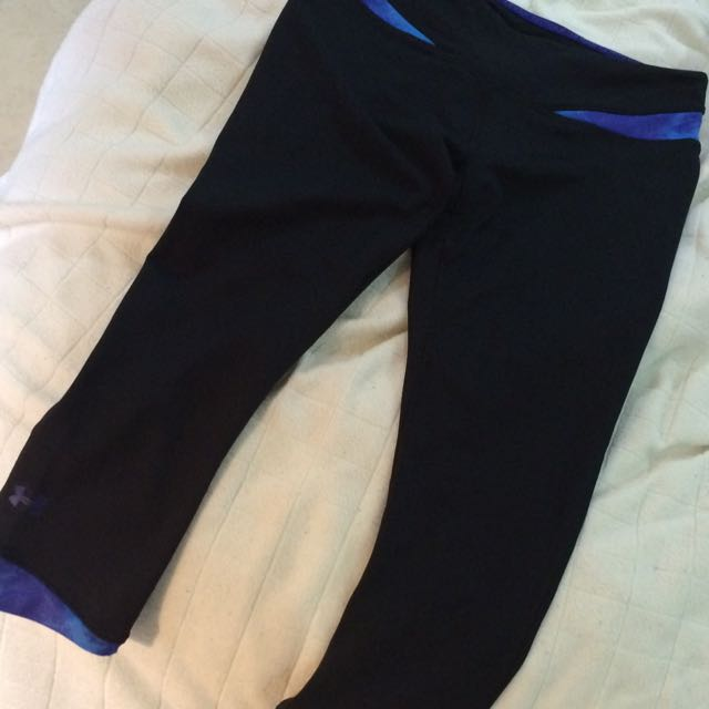 Under Armour 3/4 Tights Sml