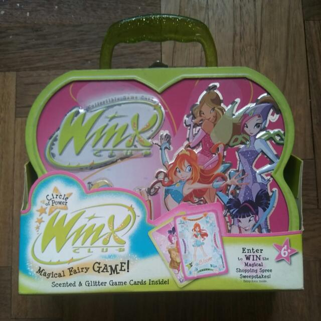 Winx Club Card Game, Toys & Games on Carousell