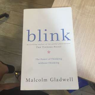 Blink By Malcolm Galdwell