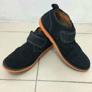Florsheim Blue Suede Shoes