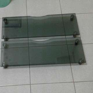 電腦銀幕桌墊高 強化玻璃