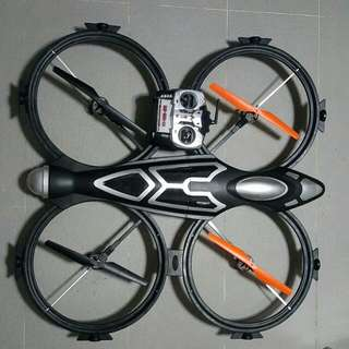 Drone Comes With Radio, Charger and Spare Blade
